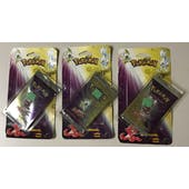 WOTC Pokemon Neo 4 Destiny Booster Broken Blisters 3 Pack LOT UNSEARCHED UNWEIGHED