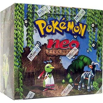 Pokemon Neo 2 Discovery Unlimited Booster Box