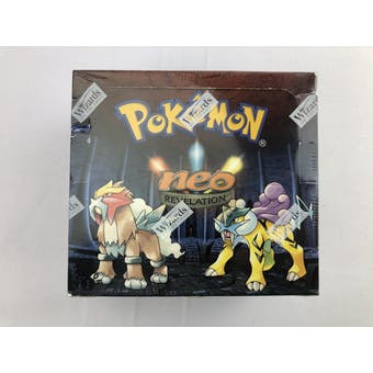 Pokemon Neo 3 Revelation 1st Edition Booster Box (C) EX-MT Box