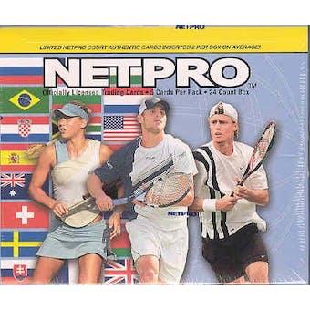 2003 NetPro International Tennis Hobby Box