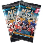 Image for  2x 2019 Panini NFL Five Football Trading Card Game Booster Pack