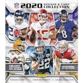 2020 Panini NFL Football Sticker Collection Album