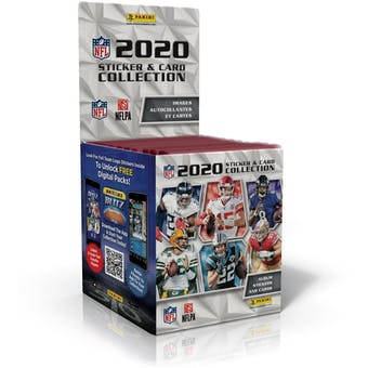 2020 Panini NFL Football Sticker Collection Box
