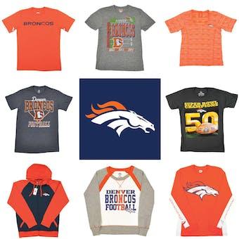 Denver Broncos Officially Licensed NFL Apparel Liquidation - 900+ Items, $38,000+ SRP!