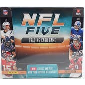 2019 Panini NFL Five Football Trading Card Game Starter Box (10 Starter Decks)