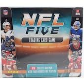 2019 Panini NFL Five Football Trading Card Game Starter Box (10 Starter Decks)