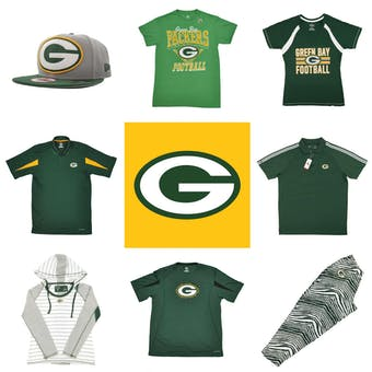 Green Bay Packers Officially Licensed NFL Apparel Liquidation - 600+ Items, $26,500+ SRP!