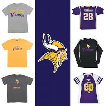 Minnesota Vikings Officially Licensed NFL Apparel Liquidation - 270+ Items, $16,000+ SRP!