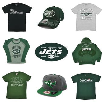 New York Jets Officially Licensed NFL Apparel Liquidation - 460+ Items, $13,800+ SRP!