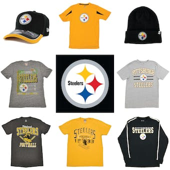 Pittsburgh Steelers Officially Licensed NFL Apparel Liquidation - 530+ Items, $23,000+ SRP!