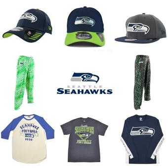 Seattle Seahawks Officially Licensed NFL Apparel Liquidation - 310+ Items, $12,900+ SRP!