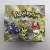 Pokemon Neo 1 Genesis Unlimited Booster Box WOTC (EX-MT)