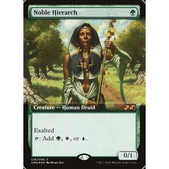 Magic the Gathering Ultimate Masters Box Topper FOIL Noble Hierarch NEAR MINT (NM)