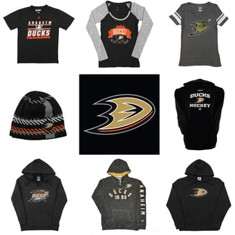 Anaheim Ducks Officially Licensed NHL Apparel Liquidation - 680+ Items, $35,500+ SRP!
