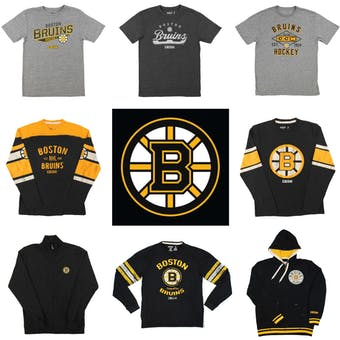 Boston Bruins Officially Licensed NHL Apparel Liquidation - 4,080+ Items, $165,000+ SRP!