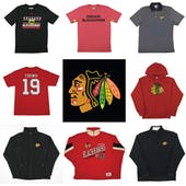 Chicago Blackhawks Officially Licensed NHL Apparel Liquidation - 3,000+ Items, $132,000+ SRP!