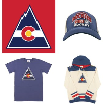 Colorado Rockies Officially Licensed NHL Apparel Liquidation - 210+ Items, $11,500+ SRP!