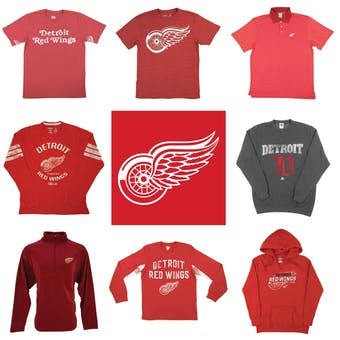 Detroit Red Wings Officially Licensed NHL Apparel Liquidation - 2,460+ Items, $92,500+ SRP!