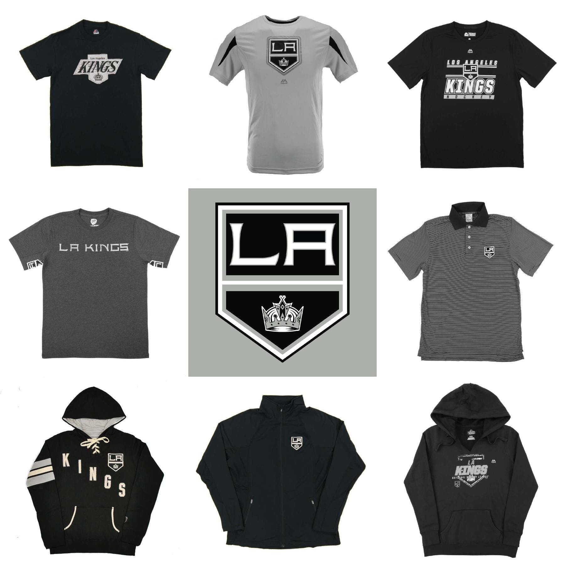 various colors dbea3 ffbd2 Los Angeles Kings Officially Licensed NHL Apparel Liquidation - 1,500+  Items, $66,600+ SRP!