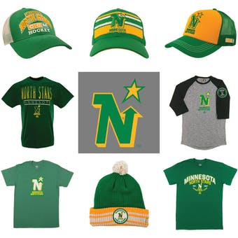 Minnesota North Stars Officially Licensed NHL Apparel Liquidation - 430+ Items, $17,000+ SRP!