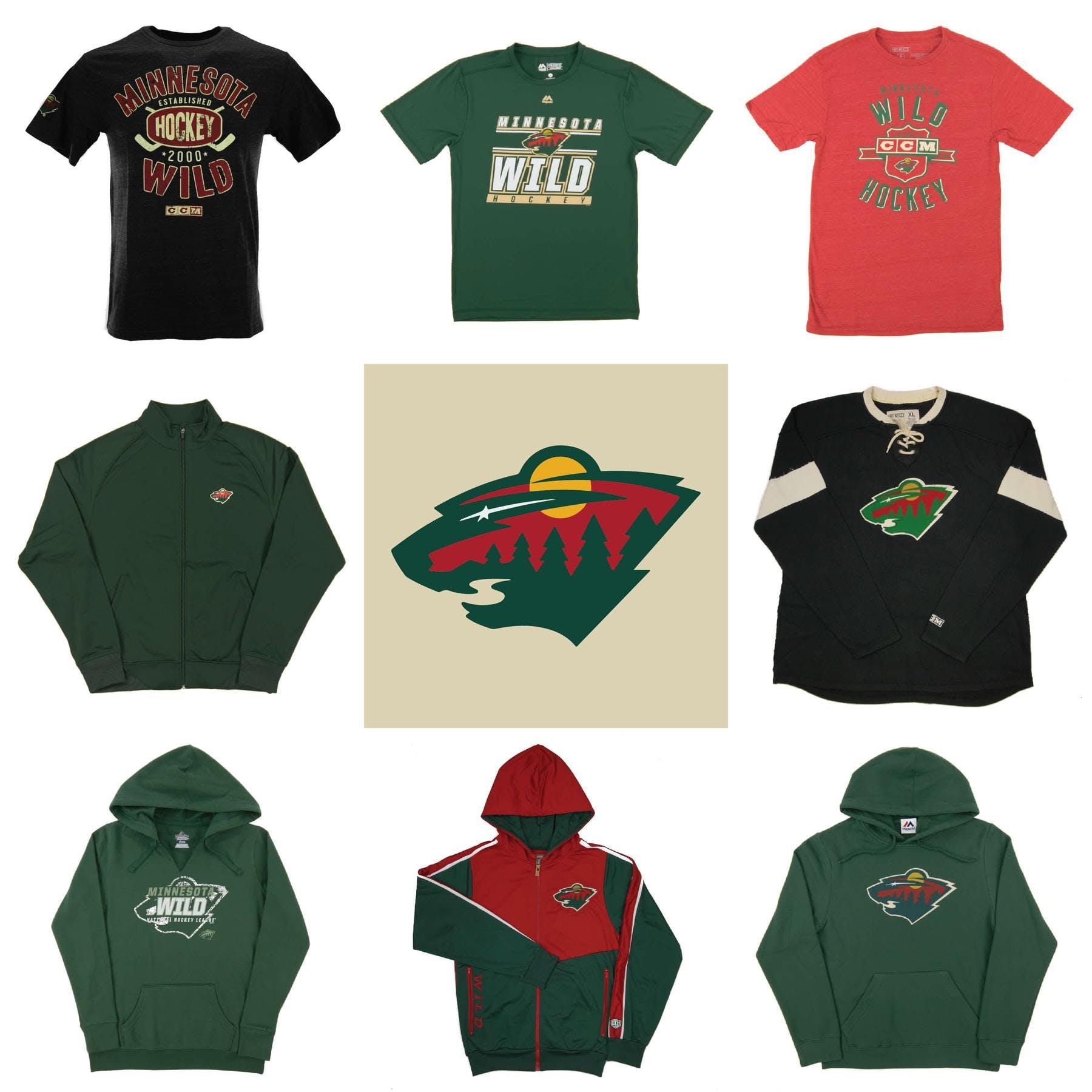 hot sales 455f9 4ef51 Minnesota Wild Officially Licensed NHL Apparel Liquidation - 1,650+ Items,   70,600+ SRP!   DA Card World