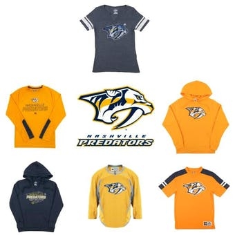 Nashville Predators Officially Licensed NHL Apparel Liquidation - 180+ Items, $9,500+ SRP!