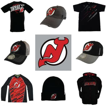 New Jersey Devils Officially Licensed NHL Apparel Liquidation - 490+ Items, $17,800+ SRP!