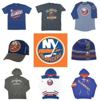 New York Islanders Officially Licensed NHL Apparel Liquidation - 430+ Items, $20,000+ SRP!