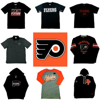Philadelphia Flyers Officially Licensed NHL Apparel Liquidation - 2,000+ Items, $81,000+ SRP!