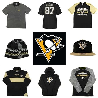 Pittsburgh Penguins Officially Licensed NHL Apparel Liquidation - 4,870+ Items, $176,000+ SRP!