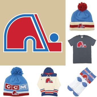 Quebec Nordiques Officially Licensed NHL Apparel Liquidation - 240+ Items, $13,000+ SRP!