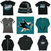 San Jose Sharks Officially Licensed NHL Apparel Liquidation - 2,020+ Items, $82,000+ SRP!