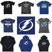 d7885b461df Tampa Bay Lightning Officially Licensed NHL Apparel Liquidation - 540+  Items, $25,000+ SRP