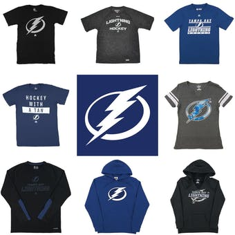 Tampa Bay Lightning Officially Licensed NHL Apparel Liquidation - 540+ Items, $25,000+ SRP!