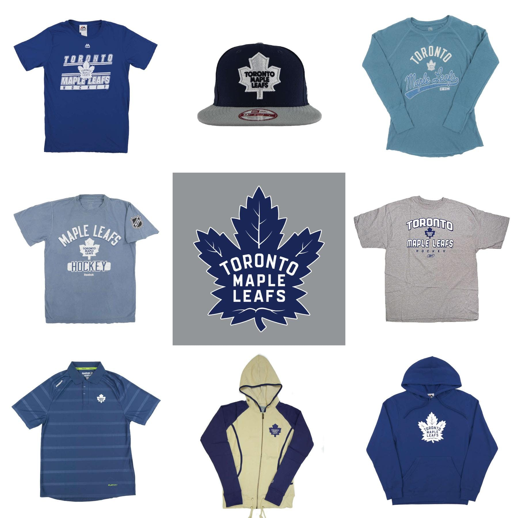 on sale ab8f0 731ff Toronto Maple Leafs Officially Licensed NHL Apparel Liquidation - 1,110+  Items, $37,000+ SRP!