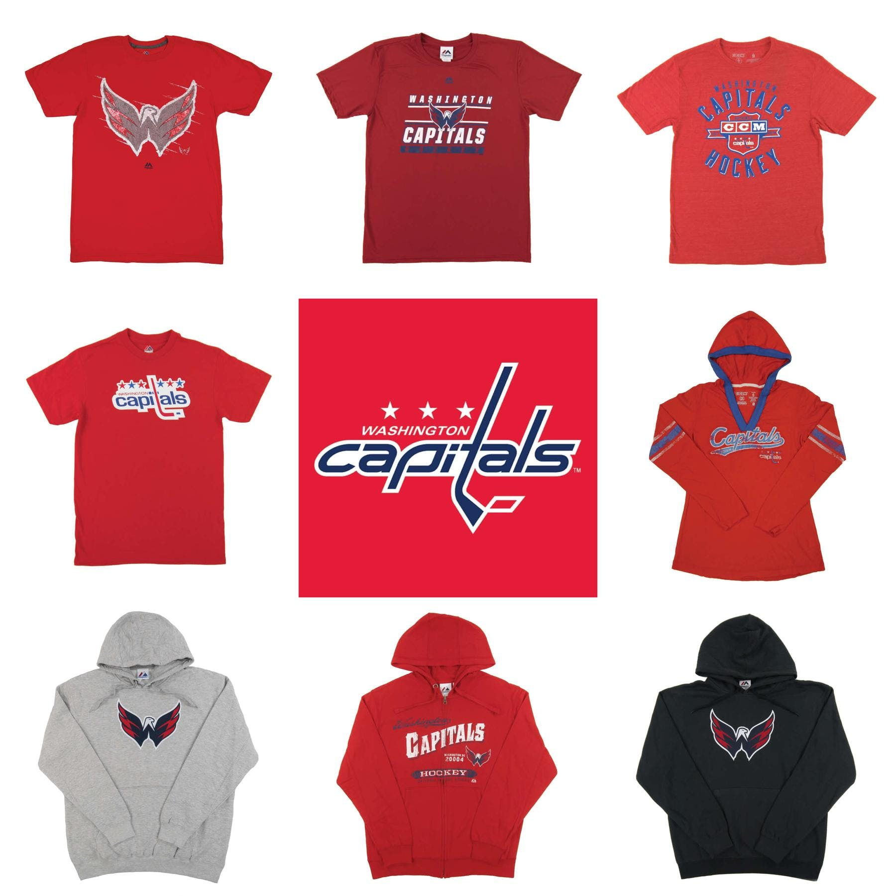 Washington Capitals Premium NHL Apparel Liquidation - 2 c28f166d0d04