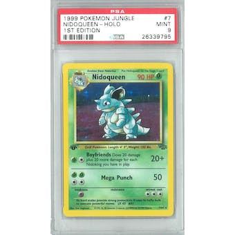 Pokemon Jungle 1st Edition Nidoqueen 7/64 PSA 9