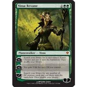 Magic the Gathering Zendikar Single Nissa Revane - NEAR MINT (NM)
