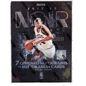 2017/18 Panini Noir Basketball Hobby Box