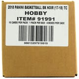 2017/18 Panini Noir Basketball Hobby 4-Box Case