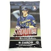 2021 Topps Stadium Club Baseball Hobby Pack
