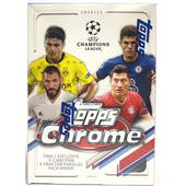2020/21 Topps UEFA Champions League Chrome Soccer 7-Pack Blaster Box