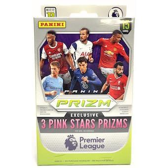 2020/21 Panini Prizm Premier League Soccer Hanger Box (Pink Stars Prizms!)