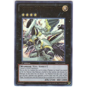 Yu-Gi-Oh Order of Chaos Single Number C39: Utopia Ray Ultra Rare