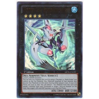 Yu-Gi-Oh Abyss Rising Single Number C32: Shark Drake Veiss Ultra Rare