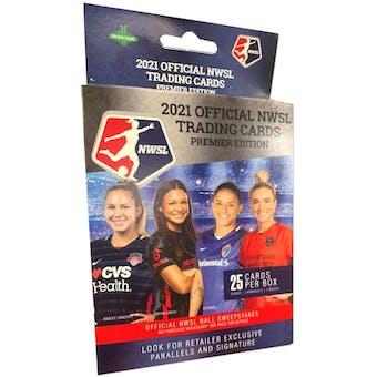 2021 Parkside NWSL Trading Cards Premier Edition Soccer Hanger Box