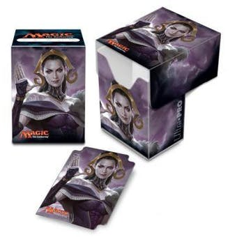 CLOSEOUT - ULTRA PRO OATH OF LILIANA DECK BOX - 60 COUNT CASE