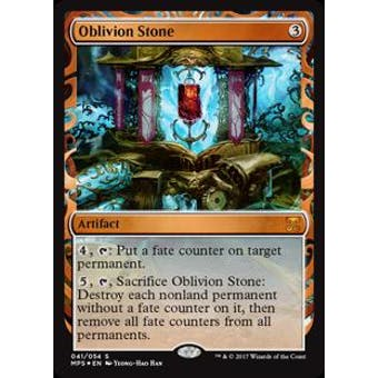 Magic the Gathering Kaladesh Inventions Single Oblivion Stone FOIL - NEAR MINT (NM)