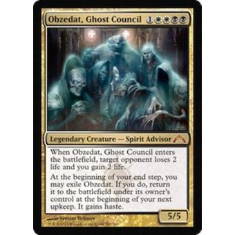 Magic the Gathering Gatecrash Single Obzedat, Ghost Council Foil