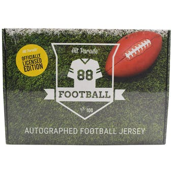 2019 Hit Parade Auto OFFICIALLY LICENSED Football Jersey 1-Box Ser 2- DACW Live 8 Spot Random Division Break 3